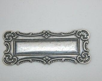 Rectangle Vintage Medallion