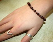 Birthing Bracelet - Poppy Jasper - Assists With The Pushing Phase Of Labor