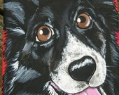 Custom Pet Portrait Painting 5x7