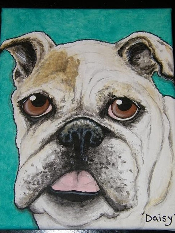 Custom Pet Portrait Painting 8x10