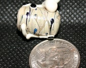 Lovely Little Lizard Lampwork Bead