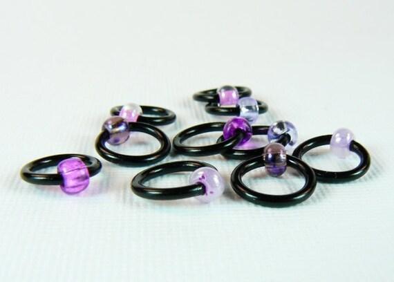 Purple Haze (US9) -Snagfree Stitch Markers
