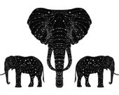 """The Constellation of the Elephant Limited edition Print A4 (8 x 12"""")"""