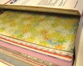 225 Sheets of Scrapbook Paper - 12x12 Full Sheets - Flat Rate Shipping