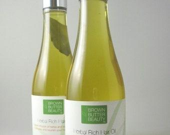 Herbal Rich Hair Oil | Hot Oil Treatment | Olive Almond Hair Oil