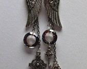 Rockstar Angel Earrings