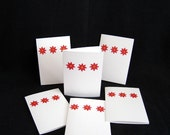SALE - Set of 6 Flower Notecards by EnsorcelledMinds
