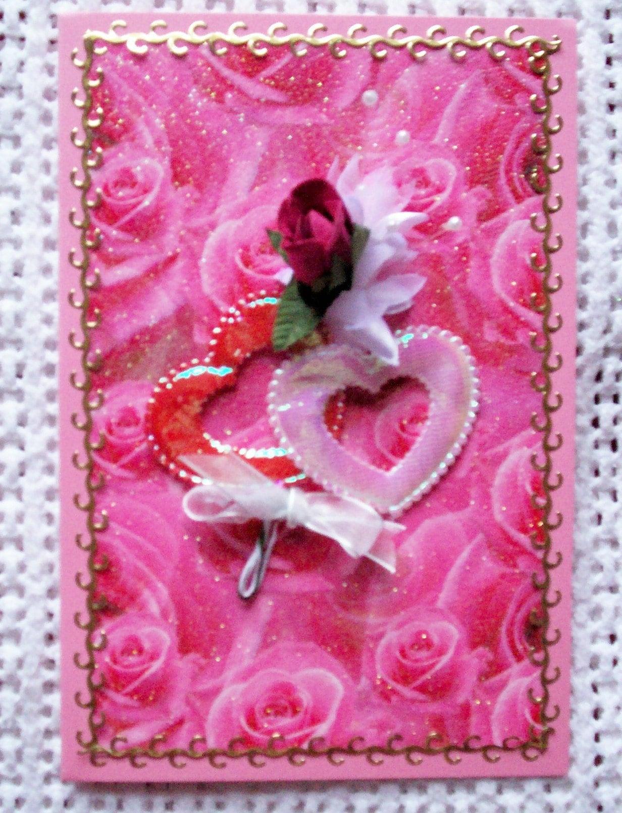 Beautiful love wedding anniversary Card