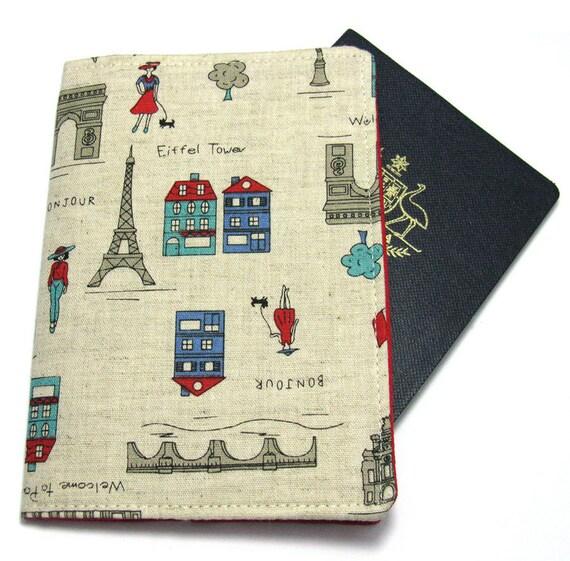 Passport Cover - Paris