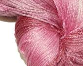 HEART'S LOVE in Hand Dyed Poet Seat Superwash Merino and Silk Yarn