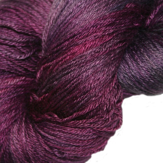 SHADES in Hand Dyed Poet Seat Fingering Weight Superwash Merino and Silk Yarn