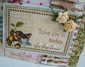 Take Joy in Today Handmade Card