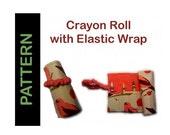 Crayon Roll Pattern - Tutorial - PDF