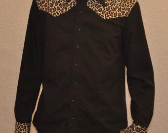 Western Trash Shirt Supernal Clothing Menswear Rockabilly psychobilly punk goth gothic steampunk clubwear costume