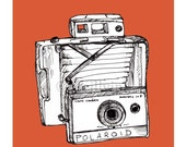 Polaroid Land Camera Print