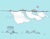 Laundry Day Print