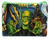 Frankenstein Zipper Pouch