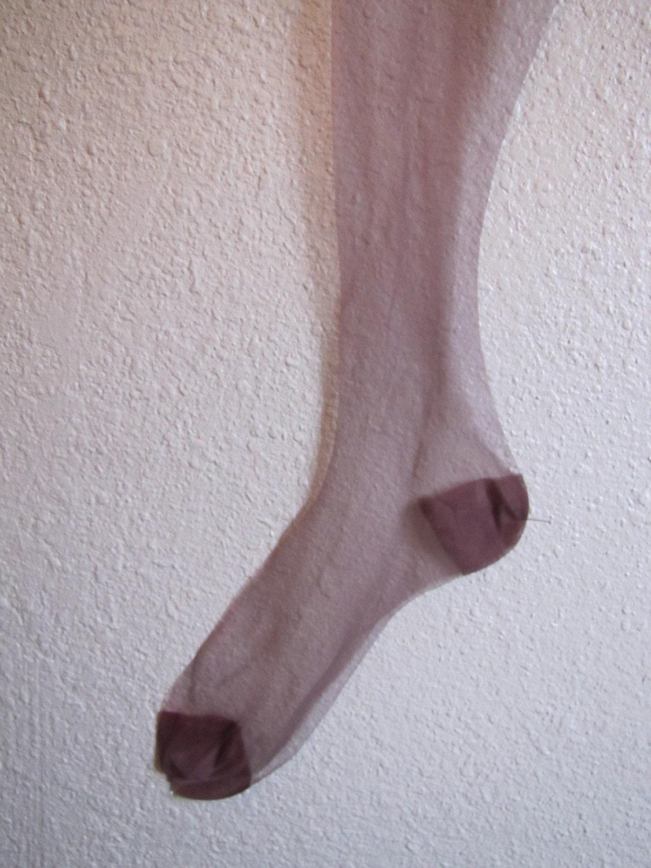 Vintage 1950s Silk Stockings Hosiery Never Worn By