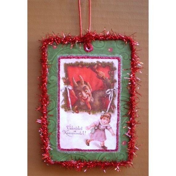 Krampus Christmas Yule winter ornament