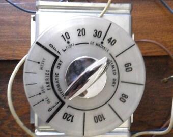 Vintage Industrial Dryer Dial Control Mechanism