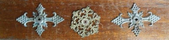 Metal decorative crosses- furniture embellishments
