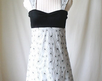 Powder Gray Flower Dress