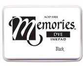 Black Ink Pad -- Memories -- Acid Free