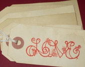 6 Love Gift Tags