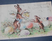 Vintage Looking Easter Gift Tags