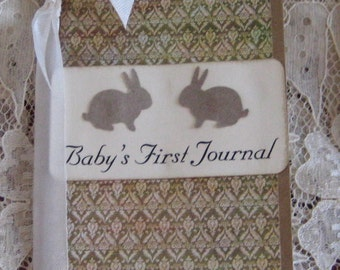 Baby's First Journal Moleskine ruled Notebook