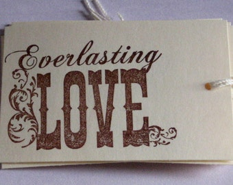 6 Everlasting Love Gift Tags