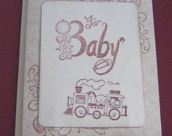 For Baby Wishes Card