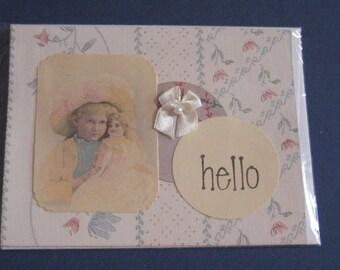 Greeting Card Hello
