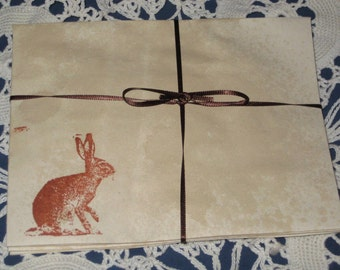 Altered Envelopes with Rabbit French Market