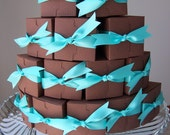 RESERVED for Anne - DiY Chocolate Paper Cake - Served by the SLiCE - Serves 6