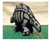 Dinosaur - Dino - Skeleton - Stegosaurs - Plush Toy