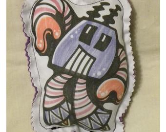 Iggos robots mini - Zap - plush - doll