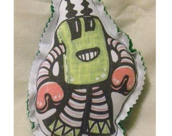 Iggos robots mini - Zip - plush - doll