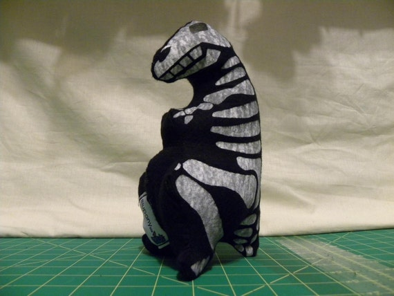 Dinosaur - Dino - Skeleton - T-Rex - Plush Toy