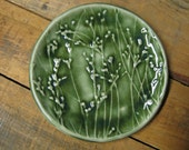 Growing flowers tray in oribe green