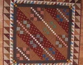 Triple Four-Patch Quilt
