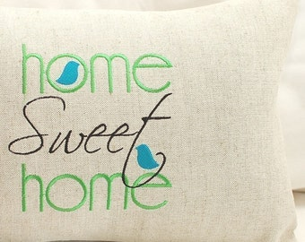 Home Sweet Home - Machine Embroidery Design