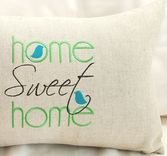 Home Sweet Home - Machine Embroidery Design from meringuedesigns ...