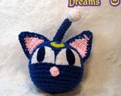 Sailor Moon Plush - Luna P - Crochet Amigurumi