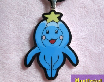 Octopus Necklace - Blue Star Bloop