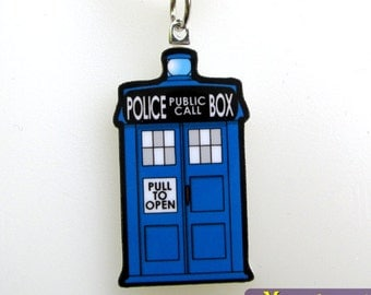 Police Box - Necklace