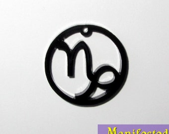 Capricorn Zodiac Cell Phone or Necklace Charm