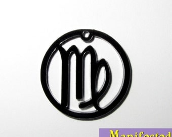 Virgo Zodiac Cell Phone or Necklace Charm