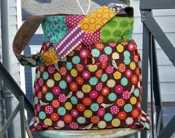 READY to Ship - Worlds Coolest Knitting Bag - Ever