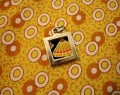 BOGO FREE Fabric Scrap Pendant